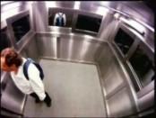 Труп в лифте. Розыгрыш.