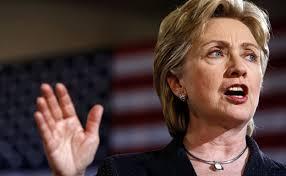 Хиллари Клинтон получила ботинком по лицу