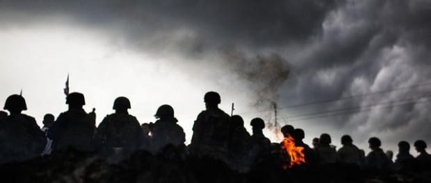 За что расстреляны и сожжены 52 миллиционера в Мариуполя