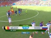 Россия - Бельгия 1:0 лучшие моменты, видео