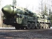 Россия . защита от ядерных ударов
