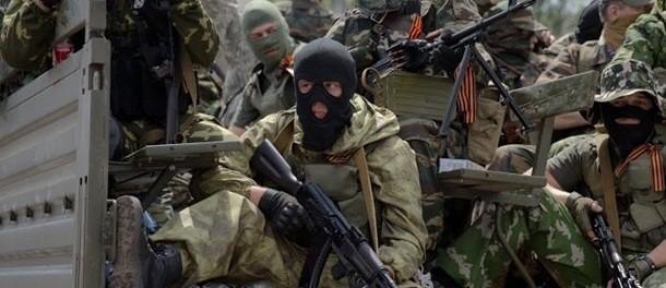 Ополченцы взяли в плен иностранных наемников
