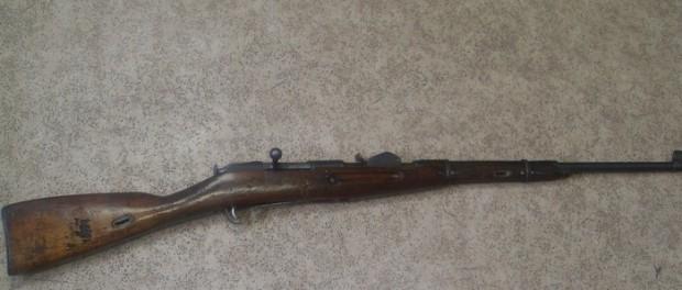 В Березовском нашли винтовку 1891 года