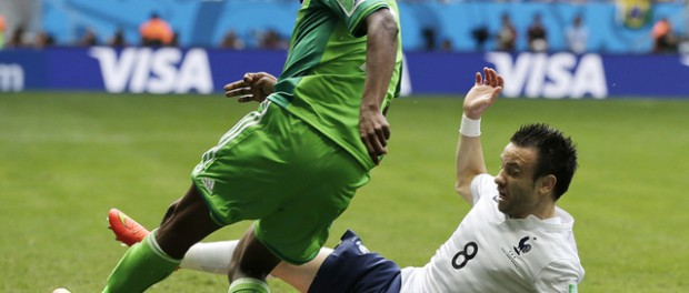 Франция на ЧМ-2014 победила Нигерию со счетом 2:0
