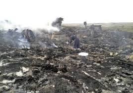 Украинская армия заметает следы на месте крушения Боинга