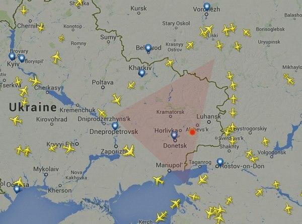 Украина сбила пассажирский самолет