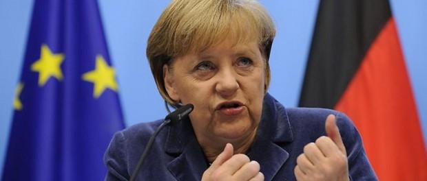 Немцы освистали Меркель на её выступлении в Дрездене
