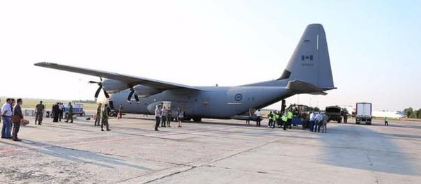Самолёт НАТО доставил на Украину военную помощь на $4,5 млн