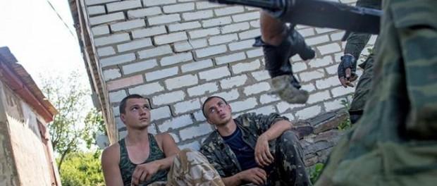 Украинские силовики сдают ополченцам иностранных наемников