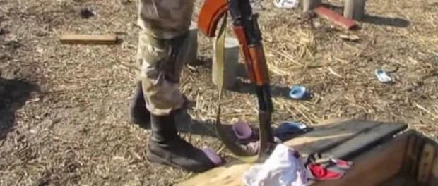 Стринги украинских военных