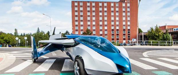 Будущее уже наступило: летающий автомобиль