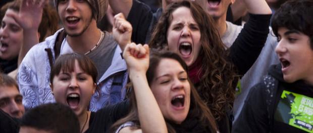 В Испании наглядно показали, как они относятся к украинским фашистам