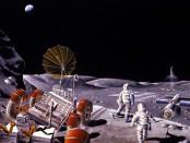 Россия колонизирует Луну, фото, видео