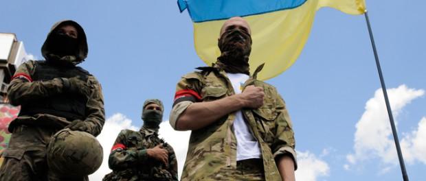 Боевики «Правого сектора» публично отказались подчиняться Киеву