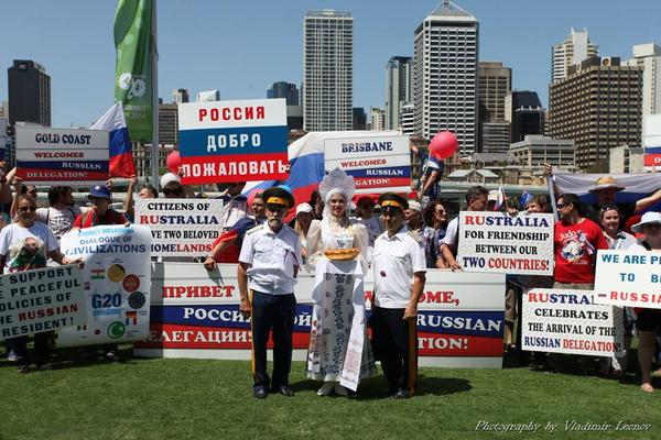Встреча Путина в Австралии, такого не покажут по Западным СМИ