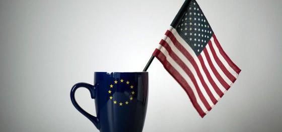 Европейцы массово вышли на улицы против порабощения Америкой