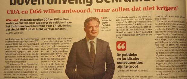 Голландия обвинила Украину:  за сбитый Боинг придется ответить