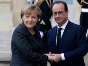 Олланд и Меркель неожиданно собрались в Москву