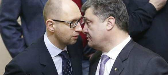 Порошенко согласовал с депутатами отставку Яценюка