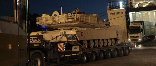 США начали переброску 3 000 солдат и 120 танков и БМП в Прибалтику для сдерживания России