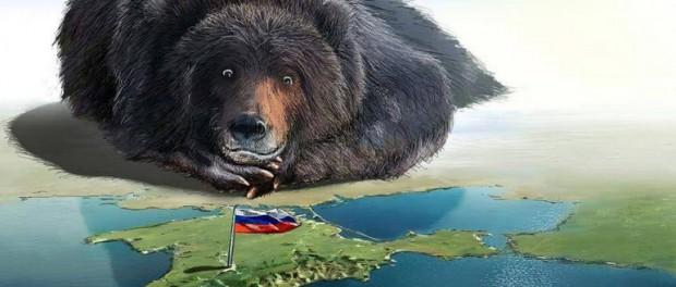 Русский мир вызывает истерику у нацистов