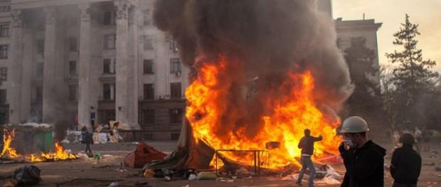 Суд Одессы отказался обнародовать причины смерти 48 человек в Доме профсоюзов 2 мая