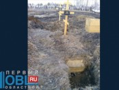 в челябинске вылезли гробы