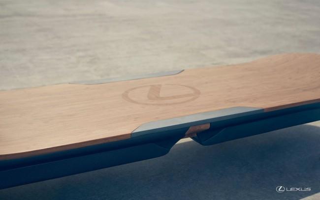 Lexus разработал скейтборд без колес