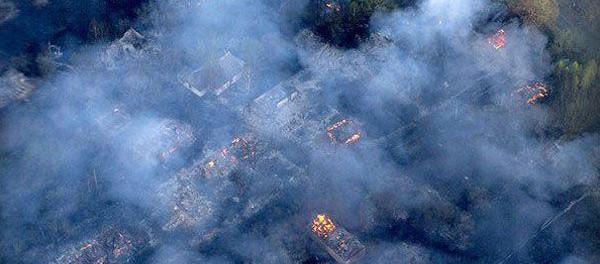 Чернобыль в огне. Почему молчит Greenpeace?