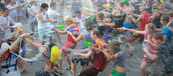12 июля состоится водная битва