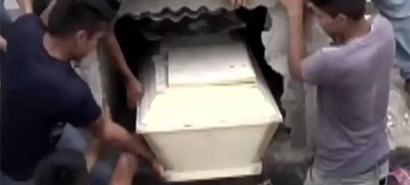 Опять похоронили заживо беременную женщину