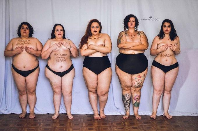 Когда толстушки модели