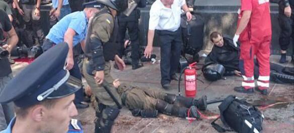 Срочно! Взрыв в Киеве! Более 30 пострадавших!