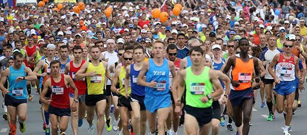 В Екатеринбурге прошел первый международный массовый марафон