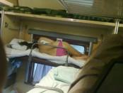 голые девушки в поездах России