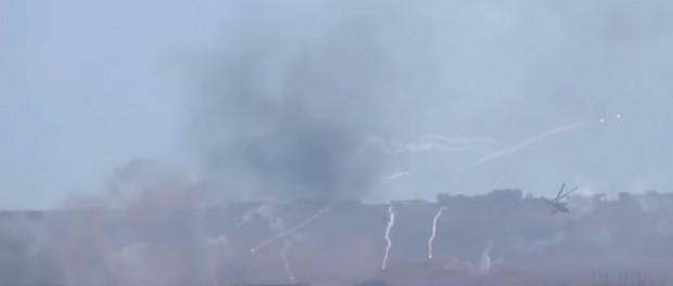 Русские «крокодилы» МИ-24 напугали ИГИЛ до истерики