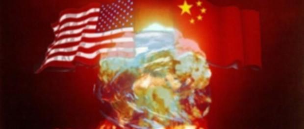 Корабли китайского флота выдвинулись на встречу американцам