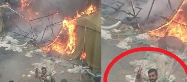 Словения в шоке: беженцы бунтуют и поджигают палаточные лагеря