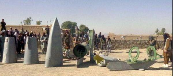 Афганские талибы подстрелили американский F-16