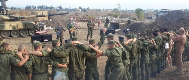 Русская морская пехота атаковала Сахль аль-Габ в Сирии