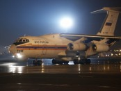 Спецборт МЧС доставил в Санкт-Петербург тела погибших в авиакатастрофе в Египте