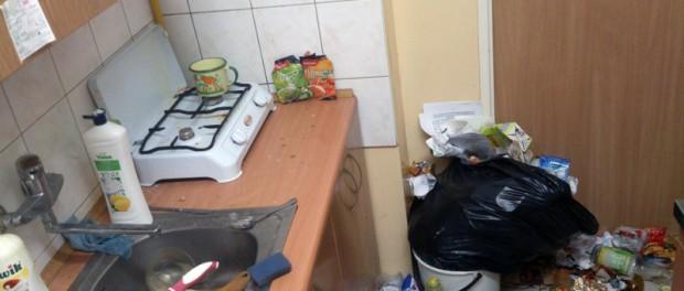 Общага в Екатеринбурге. В блоке живут 6 девушек