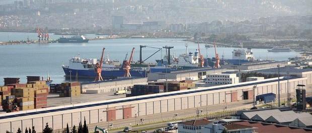 Турецком порту Самсун блокируют русские корабли