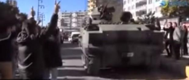 Турецкая армия отступает под натиском курдов