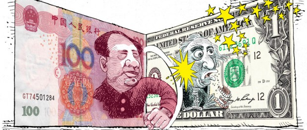 Китай рубит на корню доллар