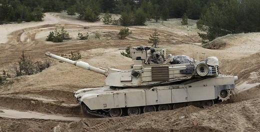 США выводят танки «Абрамс» из Латвии