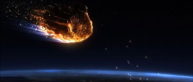В Калифорнии от падающего метеорита отслоился НЛО