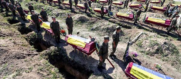 Жесть, происходящая на похоронах героя АТО