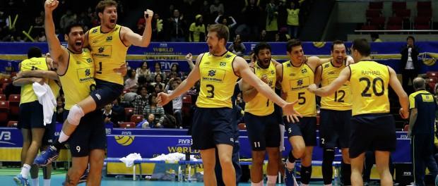 Волейбол Бразилия — США Олимпиада 2016