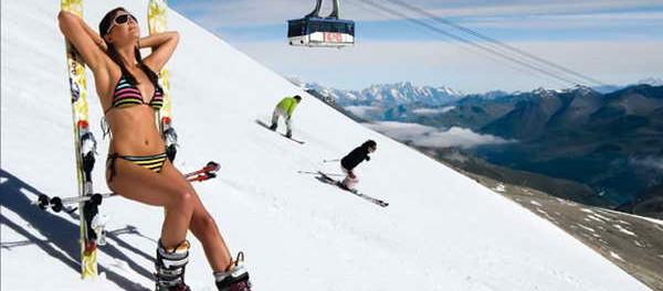 Горные лыжи в Крыму